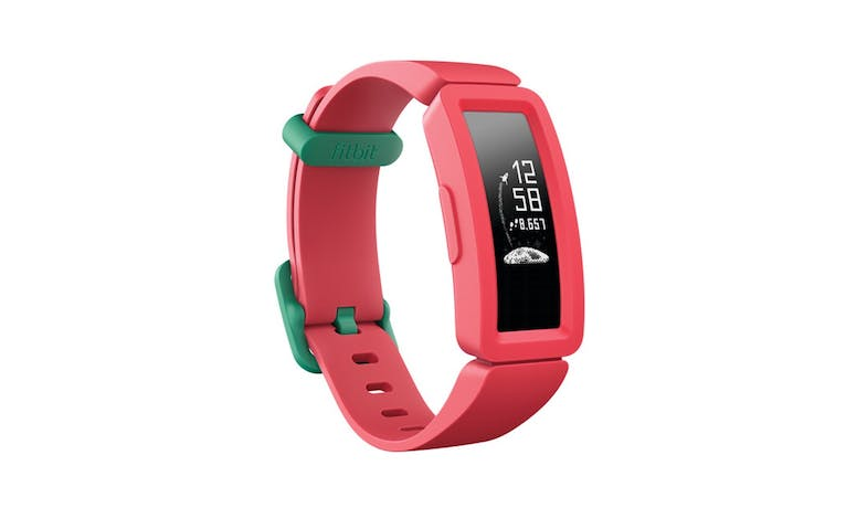 Fitbit Ace 2 Kids Activity Tracker - Watermelon-Teal-01