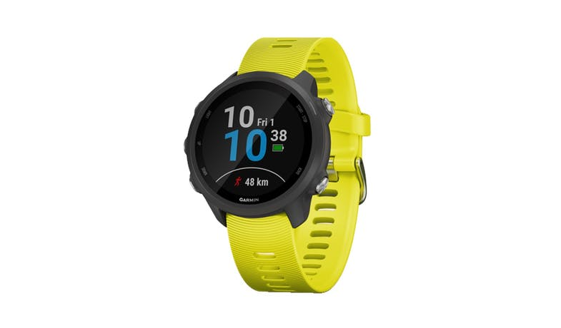 Gramin Forerunner 245 Music GPS Smartwatch - Yellow-01