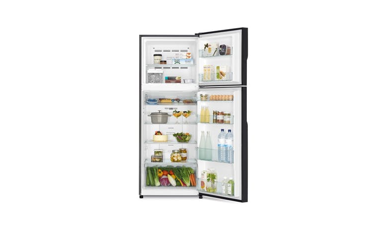 Hitachi R-VG480P8MS-XGR 407L 2-Door Fridge - Gradation Gray-02