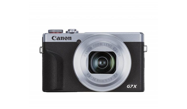 Canon PowerShot G7 X Mark III - Silver ( Front)
