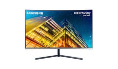 Samsung 32-inch 4K UHD Curved Monitor with 1 Billion colours (LU32R590CWEXXS) (Front)