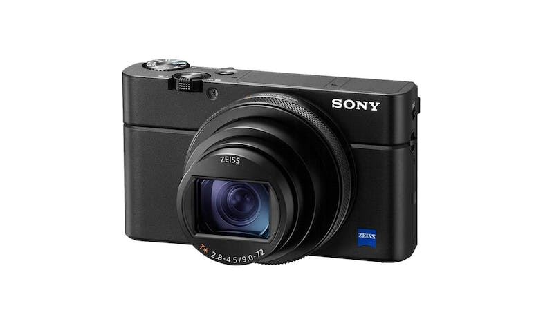 Sony Cyber-Shot RX100 VII Compact Camera (DSC-RX100M7) - Alt angle