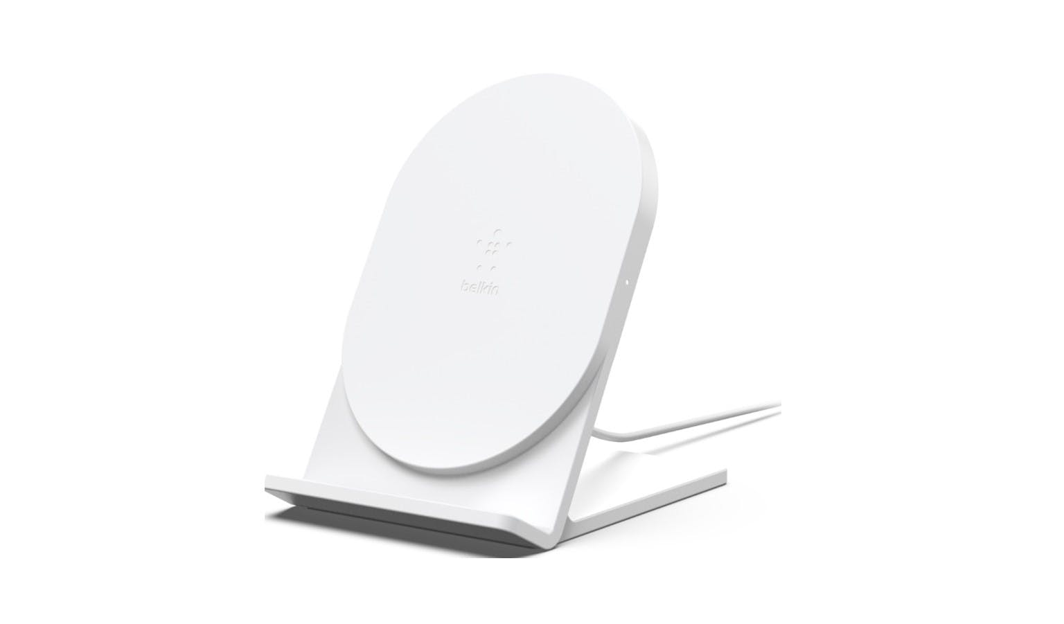Belkin F7U070btWHT Boost Up 5W Wireless Charging Stand - White