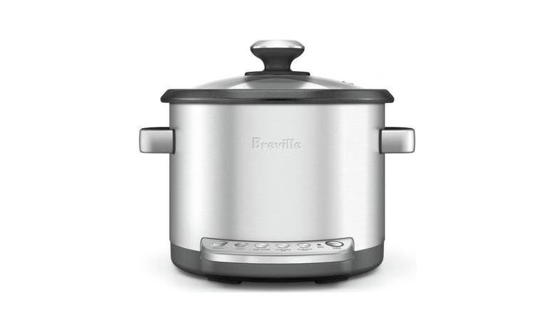 Breville The Multi Chef Multi Cooker - Brushed Stainless Steel-01