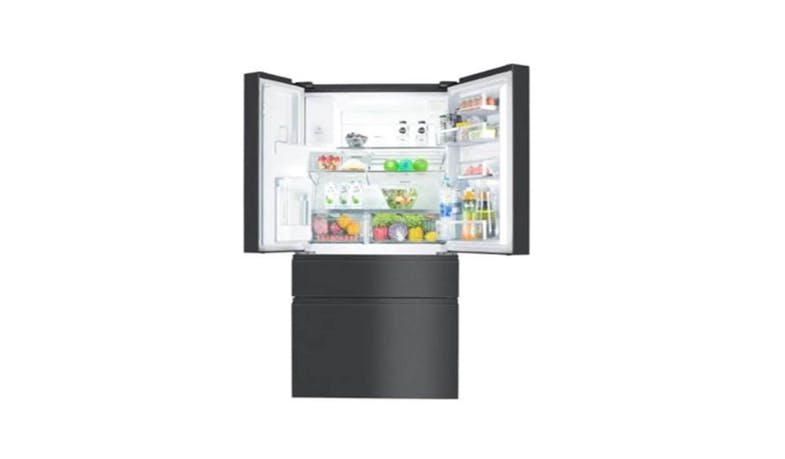 Electrolux EHE6879A-B (681L Gross) NutriFresh Inverter French Door Fridge (Inside)