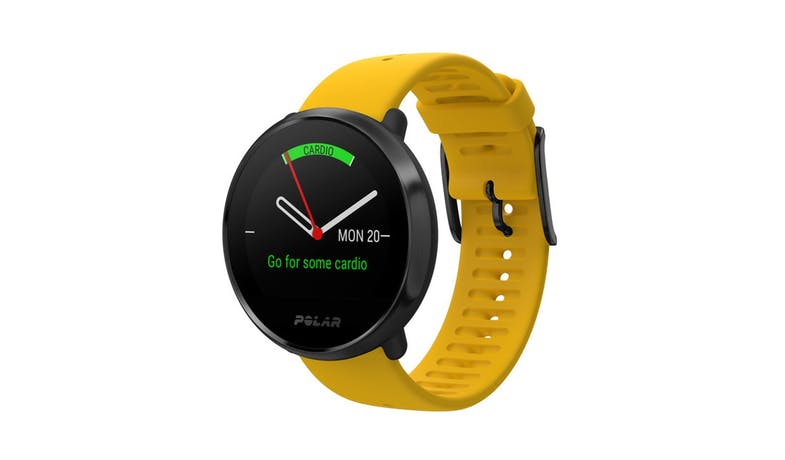 Polar Ignite GPS Fitness Watch with HR Monitor M/L - Yellow/Black-01