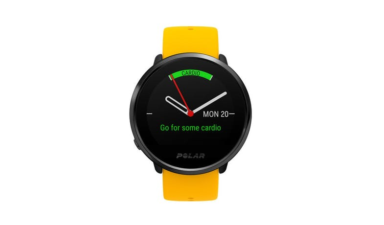 Polar Ignite GPS Fitness Watch with HR Monitor M/L - Yellow/Black-02