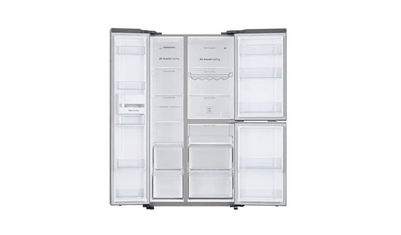 Samsung RS63R5584SL 630L Side by Side Refrigerator - Ez Clean Steel-02