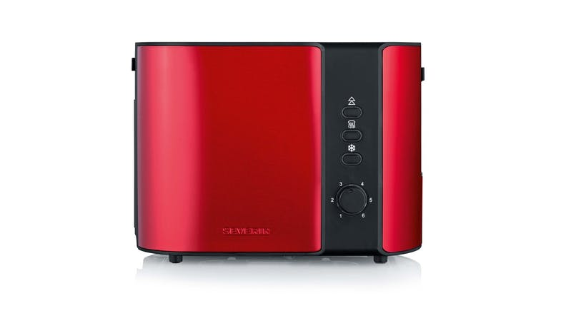 Severin AT2217 Toaster - Metallic Red-01