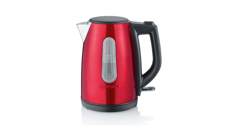 Severin WK 3417 Cordless Kettle - Metallic Red-01