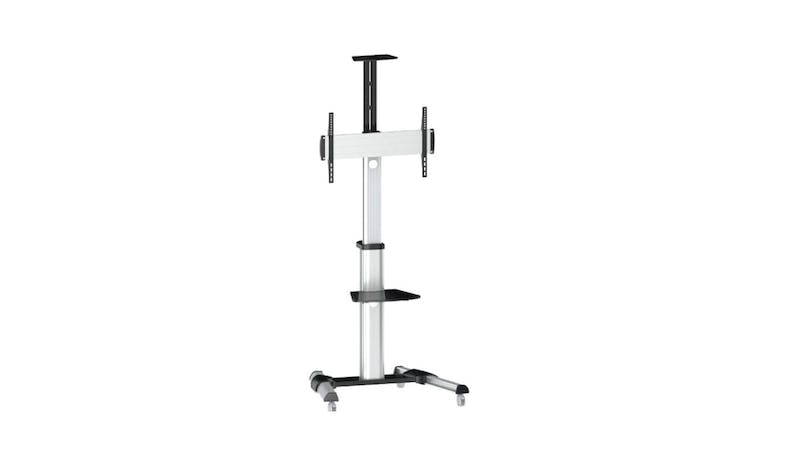 Titan SGB 120 Mobile TV Stand - Silver Chrome-01