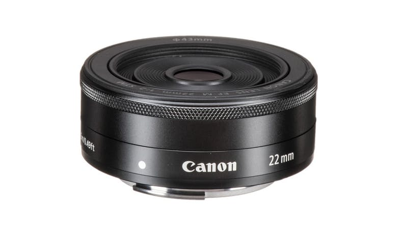 Canon EF-M 22mm f/2 STM Lens - Black-01