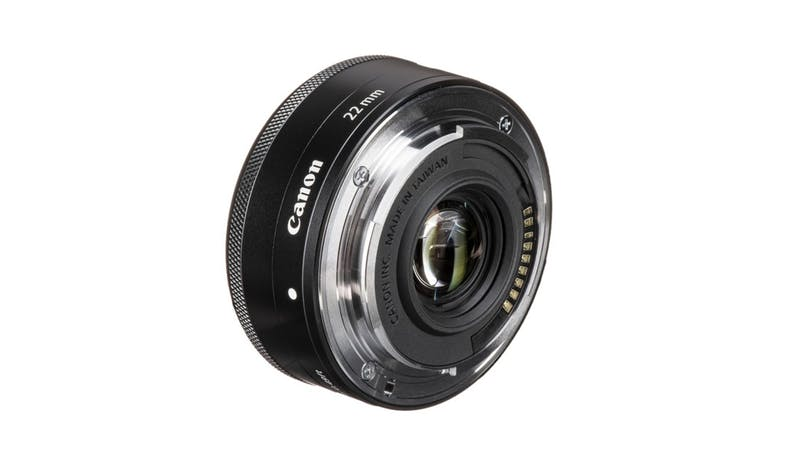Canon EF-M 22mm f/2 STM Lens - Black-02