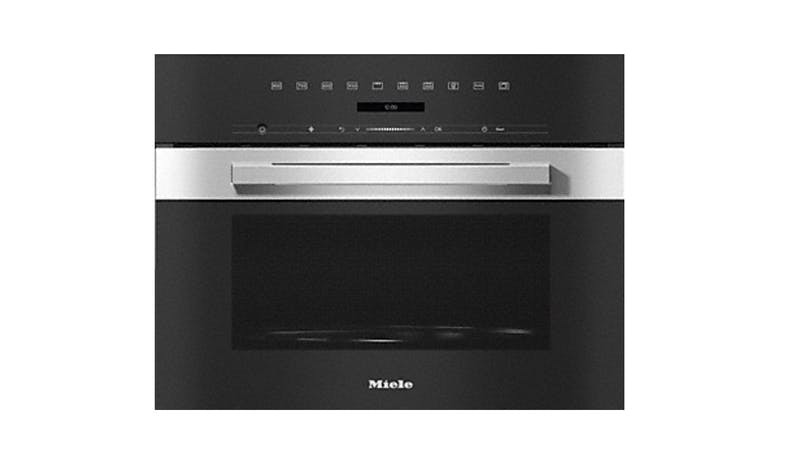 Miele M 7244 TC Built-in Microwave Oven - Clean Steel-01