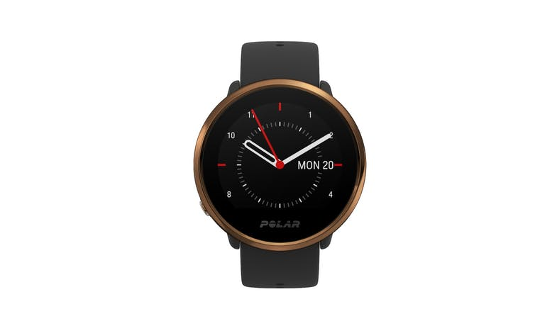 Polar Ignite Sports Smart Watch M/L - Black/Copper_01