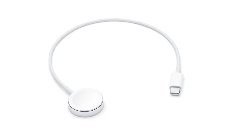 Apple MX2J2AM/A 0.3m Watch Magnetic Charger to USB-C Cable - White_01