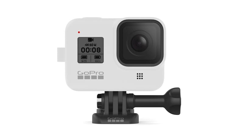 GoPro AJSST-002 Silicone Sleeve and Lanyard Kit for HERO8 - White_03