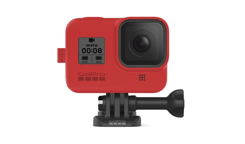 GoPro AJSST-008 Silicone Sleeve and Lanyard Kit for HERO8 - Red_03