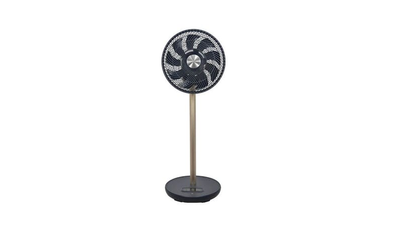 "Mistral MHV912R Mimica 12"" High Velocity Stand Fan (Front View)"