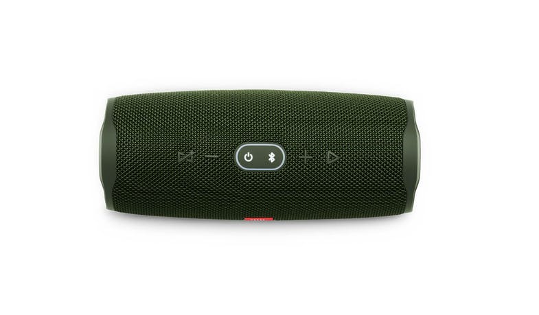 JBL Charge 4 Portable Bluetooth Speaker - Green (Top)