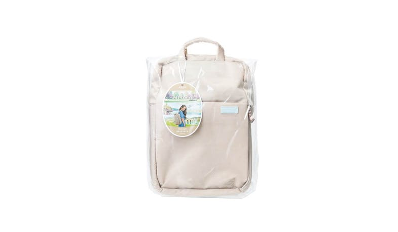 Elecom BM-OF04BE off toco Backpack - Sand Beige (Packaging)