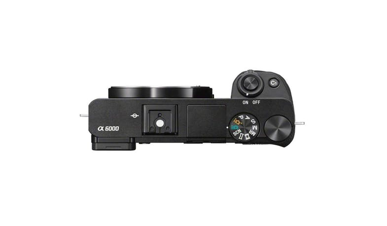 Sony a6000 24.3MP E-Mount Camera (ILCE-6000/BAP2) Body Only - Top