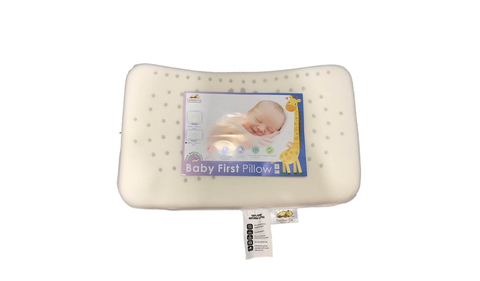 comfort co baby natural latex classic pillow