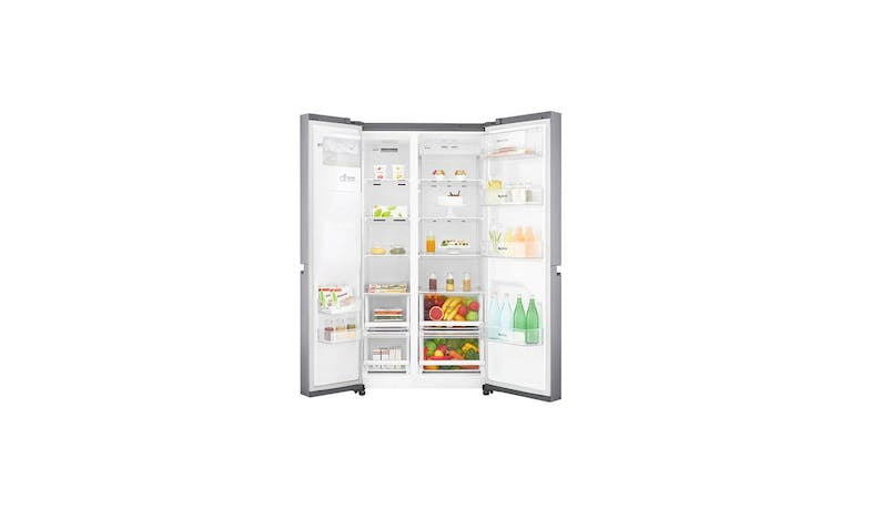 LG GS-L6013PZ (Net 601L) Side-By-Side Refrigerator (Both Doors 1)