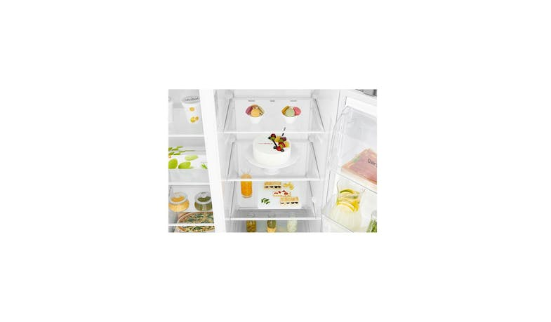 LG GS-L6013PZ (Net 601L) Side-By-Side Refrigerator (Zoom 3)