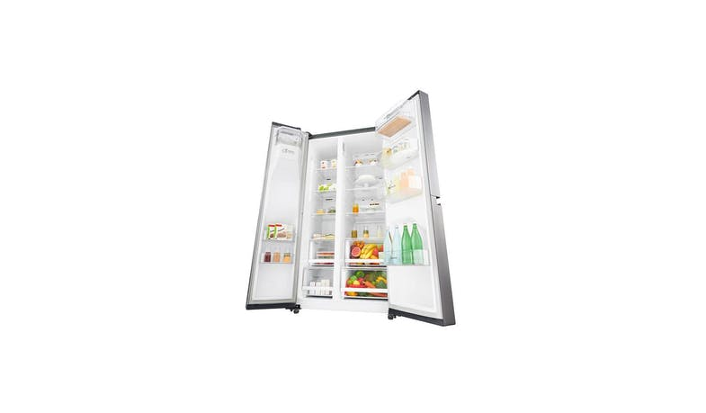 LG GS-L6013PZ (Net 601L) Side-By-Side Refrigerator (Both Doors 2)