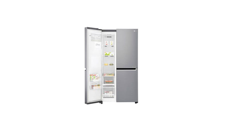 LG GS-L6013PZ (Net 601L) Side-By-Side Refrigerator (Left Door)