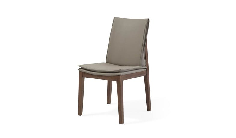 Hacienda Polyurethane Leather Dining Chair