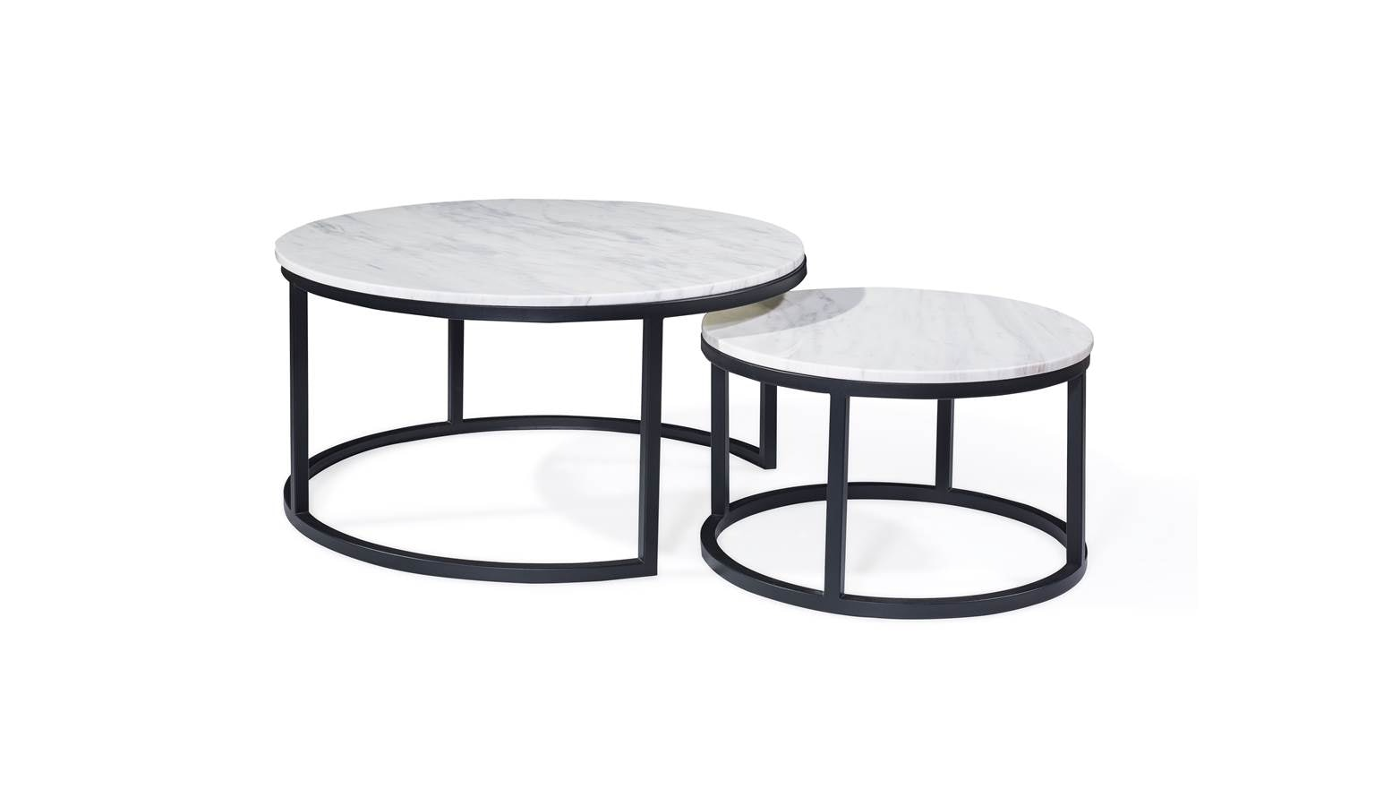 Lifestyle Acadian Marble Coffee Table Small Harvey Norman