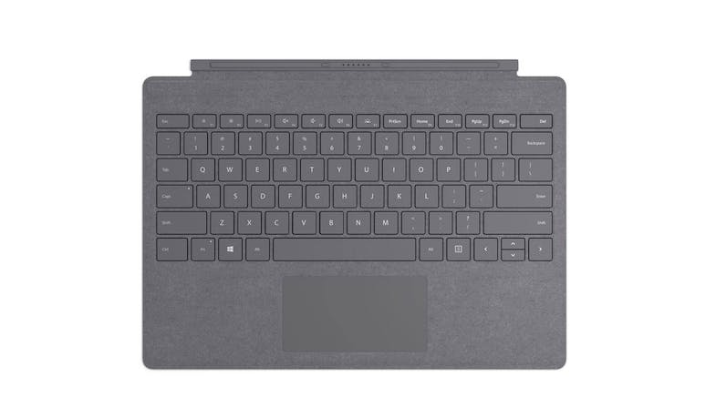 Surface Pro Signature Type Cover in Alcantara - Light Charcoal