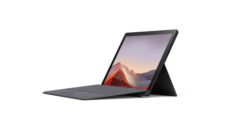 Surface Pro 7 (VAT-00025) Matte Black - Alt Angle