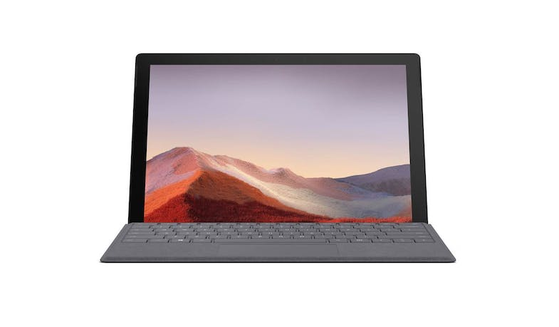 Surface Pro 7 (VAT-00025) Matte Black - Front