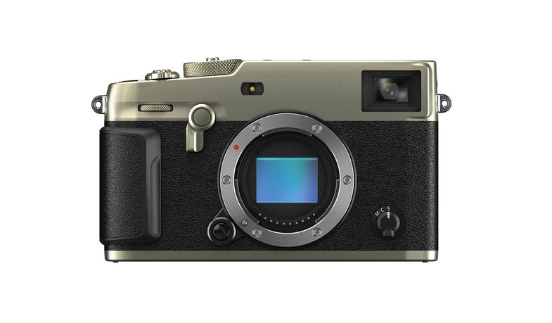 Fujifilm X-Pro3 Mirrorless Digital Camera (Body Only, Dura Silver) - Front