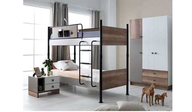 Latte Bunk Bed - Single Size
