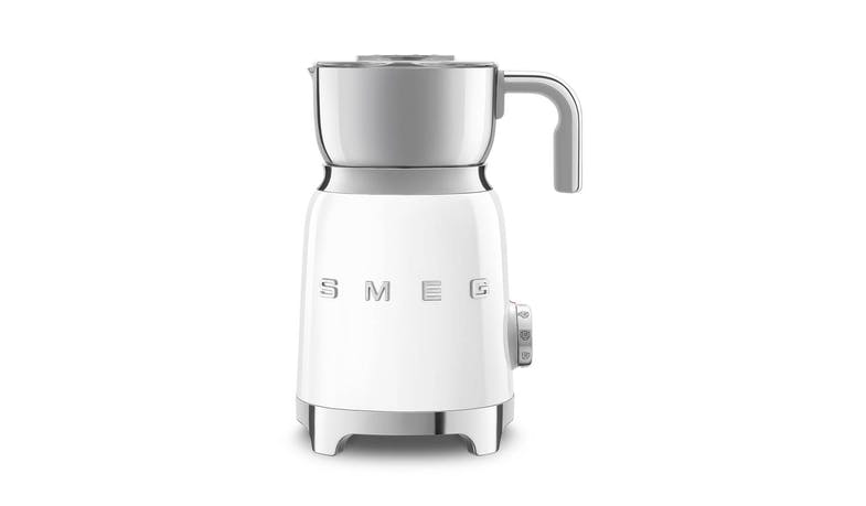 Smeg MFF01WHUK 50's Retro Style Milk Frother - Front