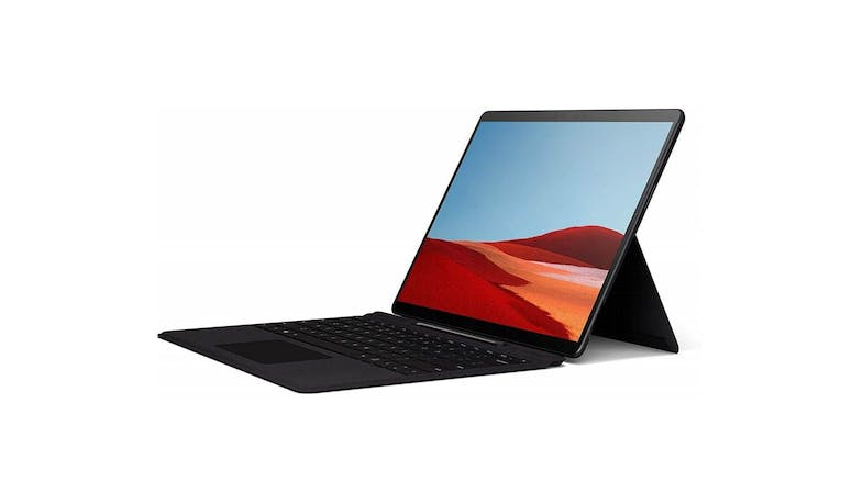 Microsoft Surface Pro X - Alt Angle (with Keyboard)