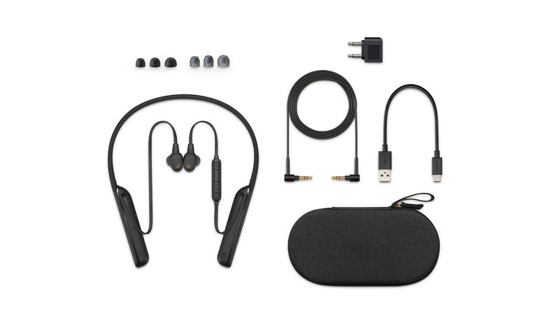 Sony WI-1000XM2 Wireless Noise Cancelling In-ear Headphones - Accessories