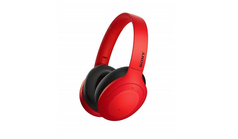 Sony WH-H910N Wireless Noise Cancelling Headphones - Red