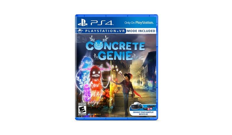 Sony PlayStation4 PCAS-05105E Concrete Genie