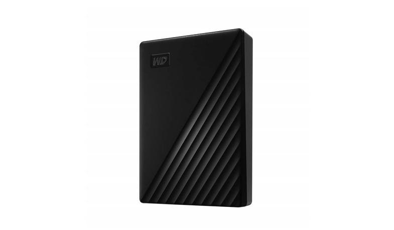 Western Digital WDBPKJ0050BBK My Passport 5TB Hard Disk Drive - Black (Main)