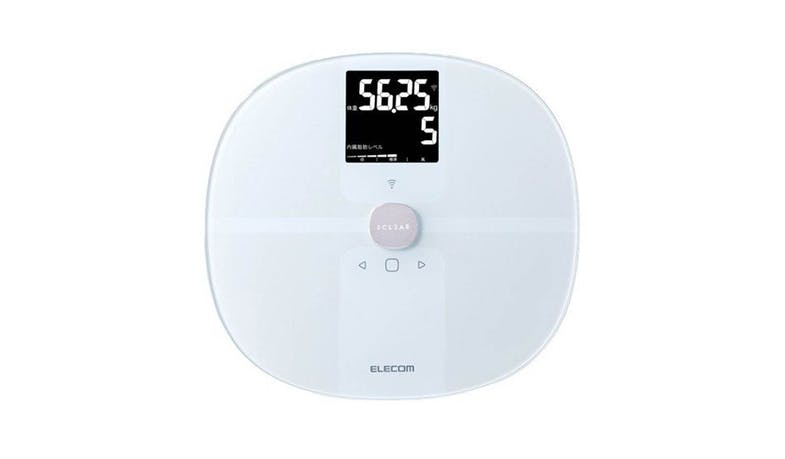 Elecom WFS01WH Ekuria Body Composition Monitor - White