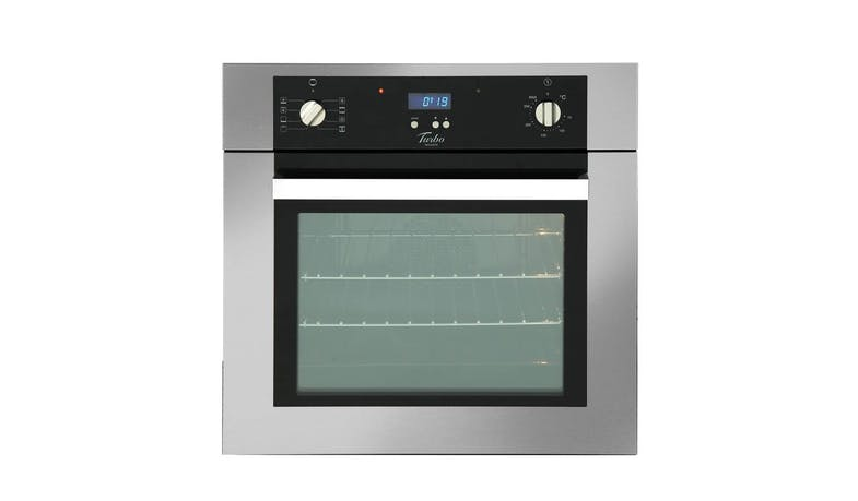Turbo Incanto TFE6608SS 8-Function (54L) Built-In Multifunction Oven With Electric Programmer - Stainless Steel