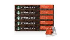 Nespresso Starbucks Single-Origin Colombia Coffee Capsule (10 Capsules)