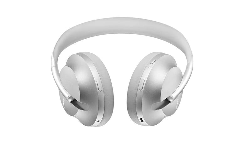 Bose Headphones 700 Noise-Canceling Wireless Headphones - Luxe Silver (Bottom)