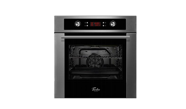 Turbo Incanto TFM8628 (65L) 8-Function Built-In Multifunction Oven With Electric Programmer