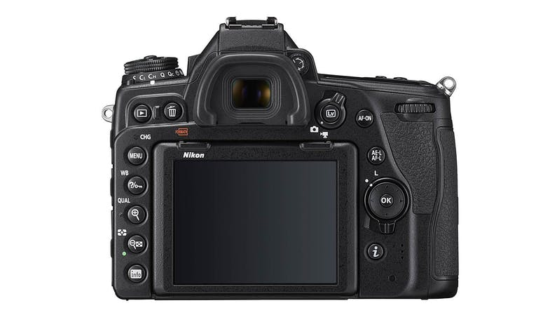 Nikon D780 DSLR Camera with 24-120mm Lens (Back)